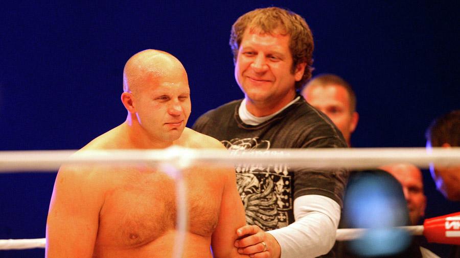 Федор Емельяненко и его младший брат Александр