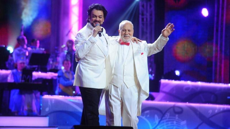 Филипп Киркоров и его отец Бедрос Крикорян