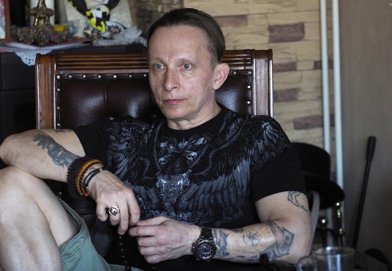 Иван Охлобыстин и его татуировки