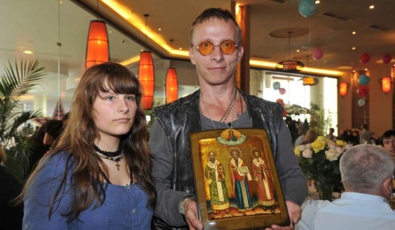 Иван Охлобыстин со своей дочерью