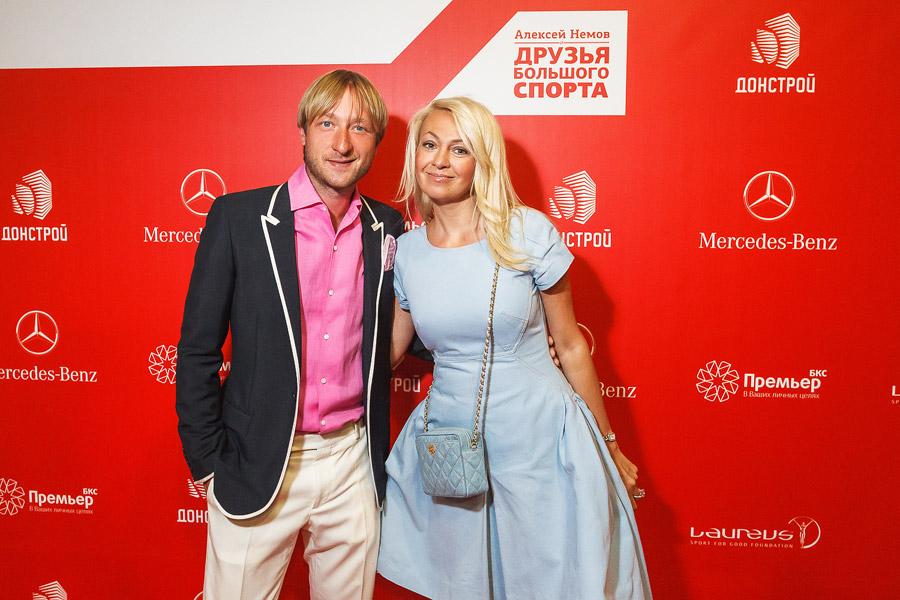 Яна Рудковская с Плющенко
