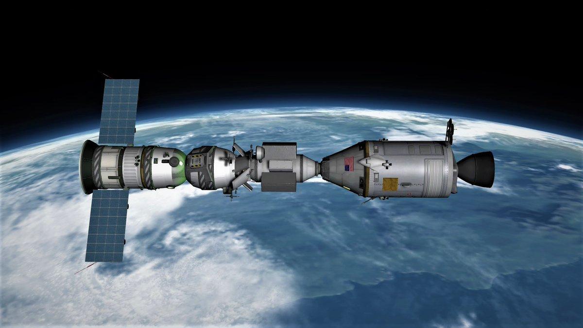 Модель стыковки Союз-Аполлон