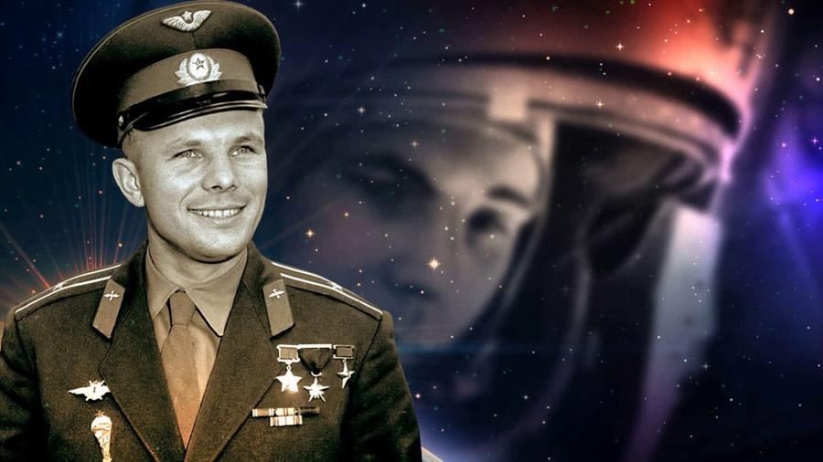 Юрий Гагарин - первый человек в космосе!