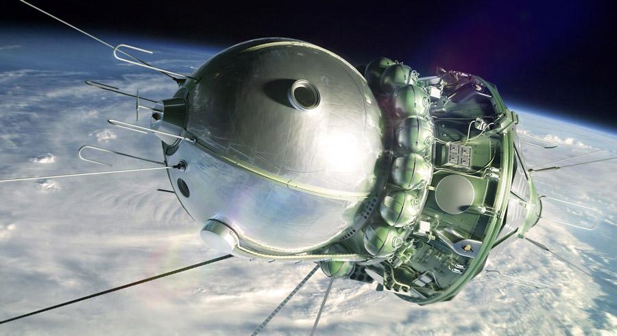 Корабль Восток-1 - на этой модели Гагарин совершил полет