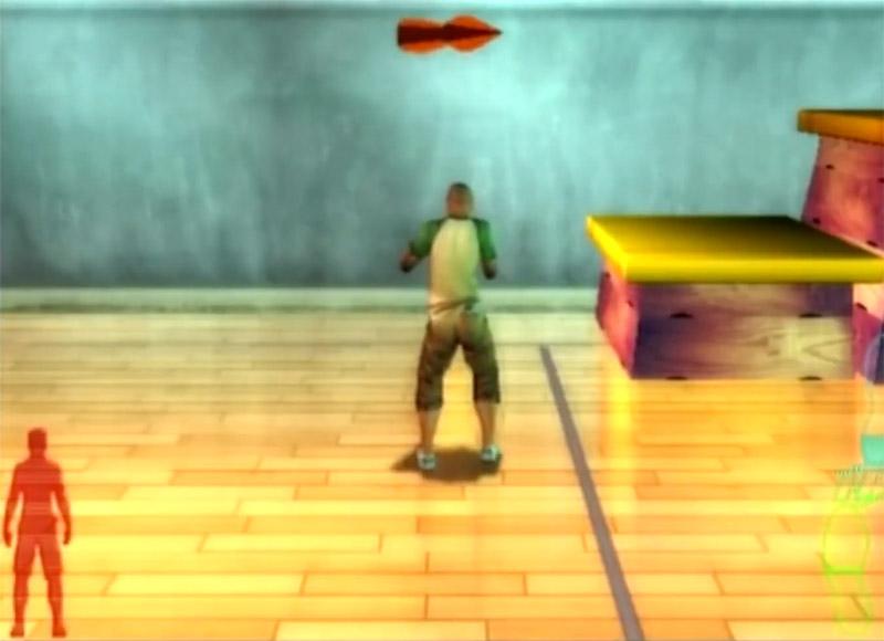 Скриншот игрового процесса игры про паркур: Free Running