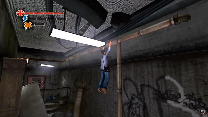 Скриншот игрового процесса игры про паркур: Marc Ecko's Getting Up: Contents Under Pressure