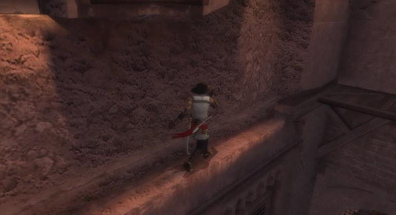 Скриншот игрового процесса игры про паркур: Prince of Persia