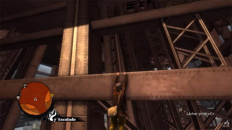 Скриншот игрового процесса игры про паркур: The Saboteur