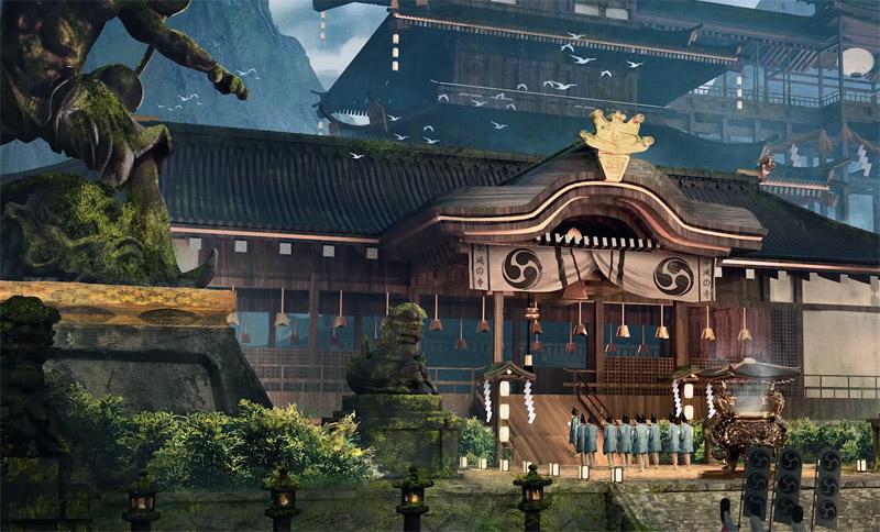Храм Стихий, который хранил могущественный амулет Шиннока