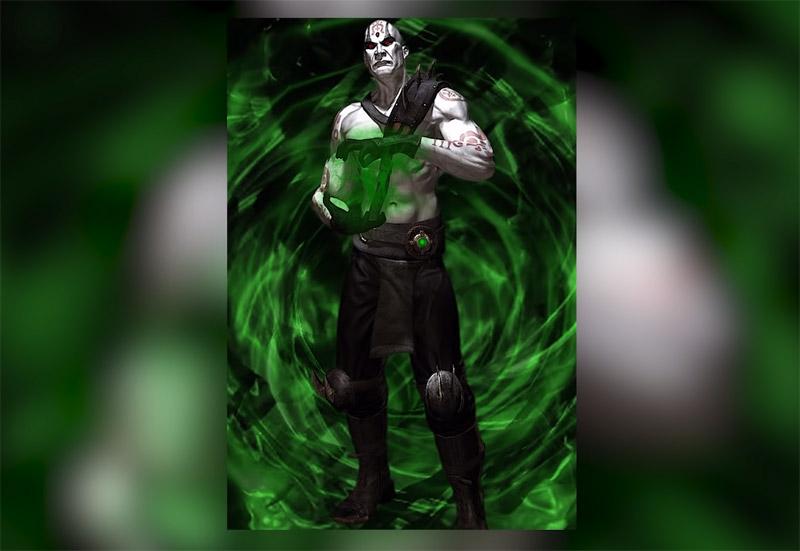 Некромант Куан Чи из вселенной Mortal Kombat