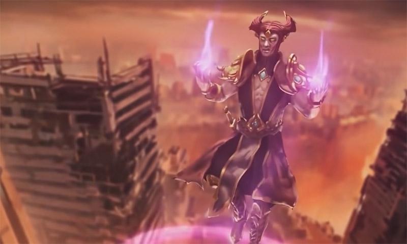 Шиннок - один из старших богов вселенной Мортал Комбат